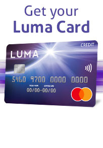 Get Your Luma Card Today